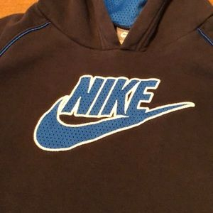 VTG Nike Pullover Sweatshirt Hoodie Mesh Logo READ